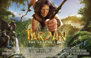 TARZAN 3D (PG)
