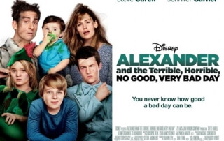 ALEXANDER AND THE TERRIBLE, HORRIBLE, NO GOOD, VERY BAD DAY (PG)