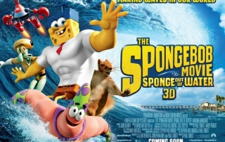 THE SPONGEBOB MOVIE: SPONGE OUT OF WATER (U)