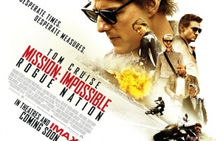 MISSION: IMPOSSIBLE – ROGUE NATION (12A)
