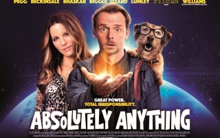 ABSOLUTELY ANYTHING (12A)