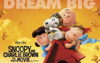 SNOOPY & CHARLIE BROWN: THE PEANUTS MOVIE (U)
