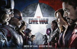 CAPTAIN AMERICA: CIVIL WAR (12A)