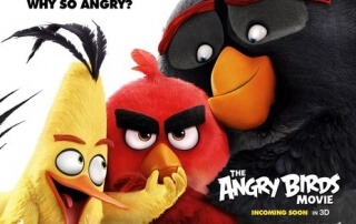 THE ANGRY BIRDS MOVIE (U)