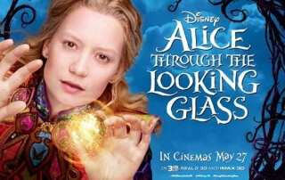 ALICE THROUGH THE LOOKING GLASS (PG)
