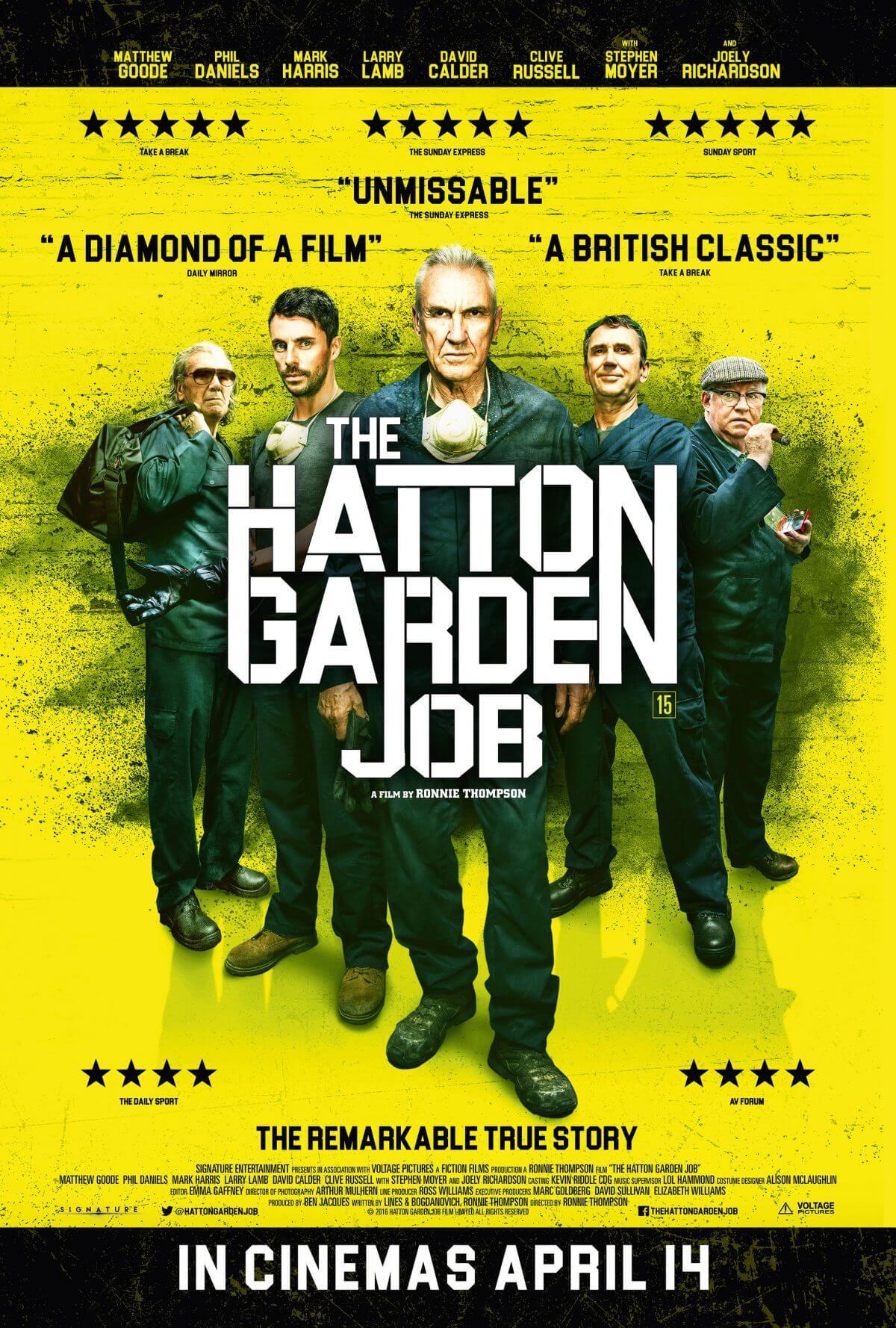 Film Feeder THE HATTON GARDEN JOB 15 Film Feeder