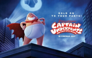 CAPTAIN UNDERPANTS: THE FIRST EPIC MOVIE (U)