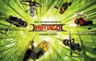 THE LEGO NINJAGO MOVIE (U)