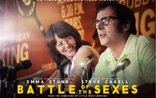 BATTLE OF THE SEXES (12A)