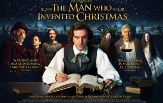 THE MAN WHO INVENTED CHRISTMAS (PG)