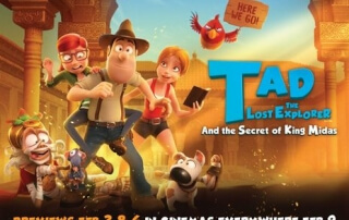 TAD THE LOST EXPLORER AND THE SECRET OF KING MIDAS (U)