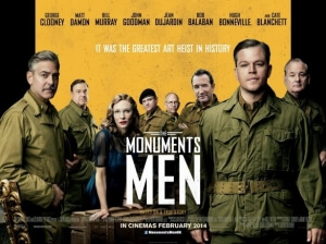 The-Monuments-Men-UK-Quad-Poster-585x438