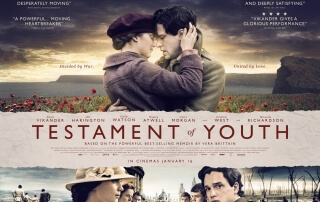 TESTAMENT OF YOUTH (12A)
