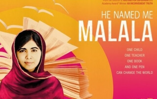 HE NAMED ME MALALA (PG)