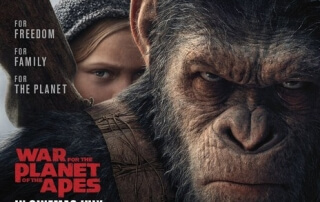 WAR FOR THE PLANET OF THE APES (12A)