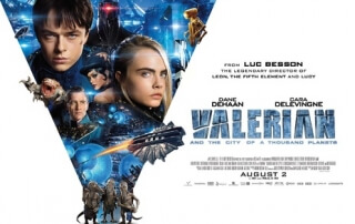 VALERIAN AND THE CITY OF A THOUSAND PLANETS (12A)