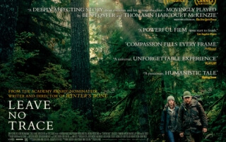 LEAVE NO TRACE (PG)