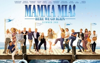 MAMMA MIA! HERE WE GO AGAIN (PG)