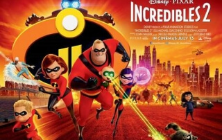 INCREDIBLES 2 (PG)