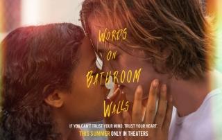 WORDS ON BATHROOM WALLS (12A)